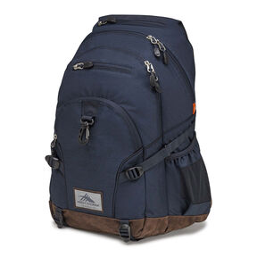 High Sierra Super Loop Backpack in the color Midnight Heather/Midnight Blue.