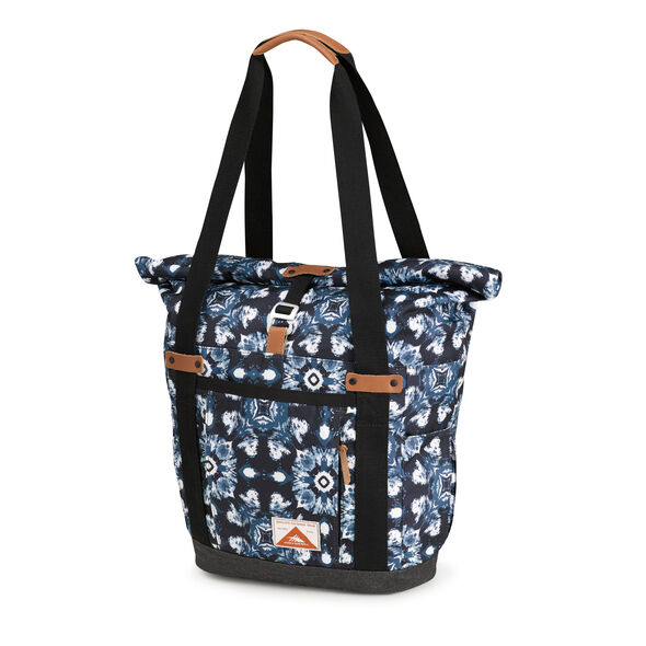 High Sierra Olmsted Clybourn Tote in the color Eclipse/Raven.