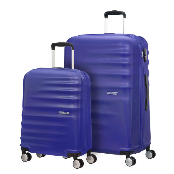 American Tourister Wavebreaker 2 PC Set in the color Sunny Yellow.