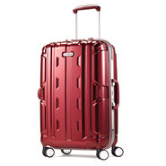 "Samsonite Cruisair DLX 21"" Spinner in the color Burgundy."
