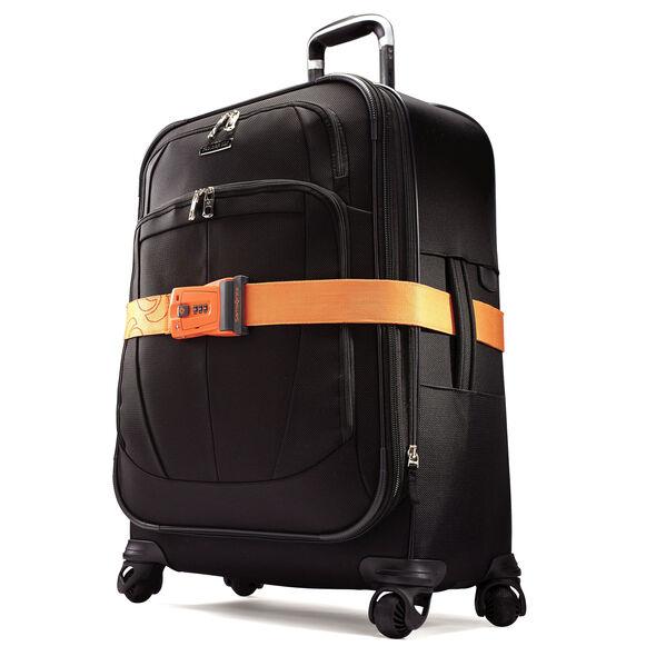 Samsonite Travel Sentry 3-Dial Combo Luggage Strap in the color Juicy Orange.