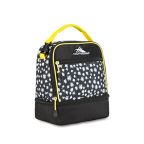High Sierra Lunch Packs Stacked Compartment in the color Daisy.