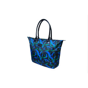 Lipault Lady Plume Tote Bag M in the color Green Feather.