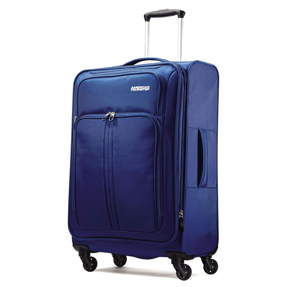 "American Tourister Splash Spin LTE 24"" Spinner in the color Blue."