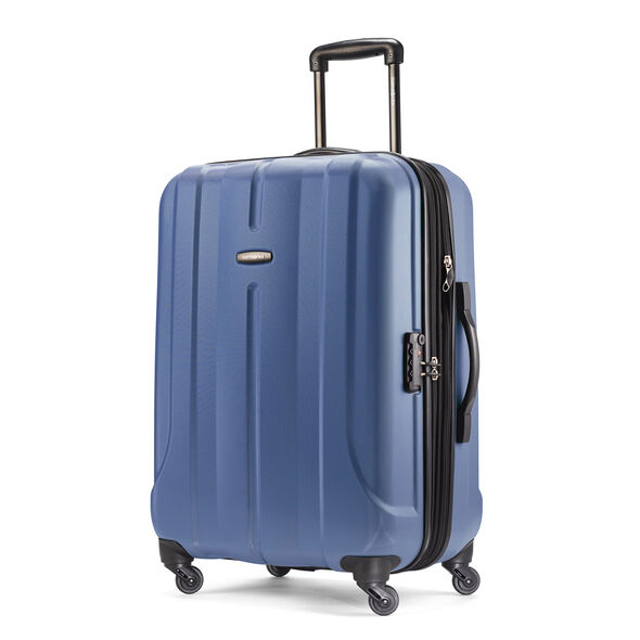 "Samsonite Fiero 24"" Spinner in the color Blue."
