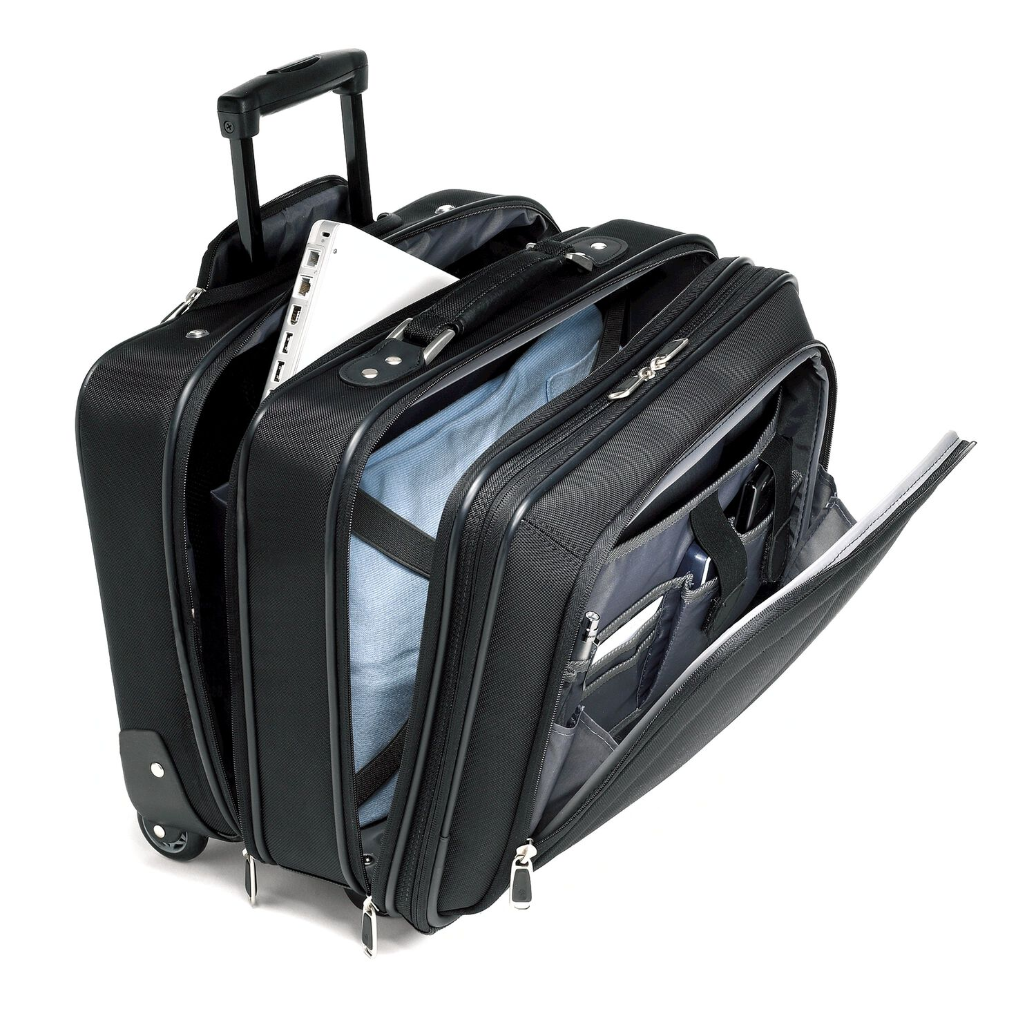Samsonite business one mobile office - The mobile office working on two wheels ...