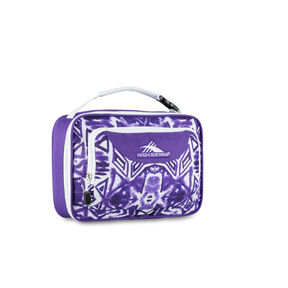 High Sierra Lunch Packs Single Compartment in the color Purple Shibori.