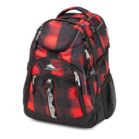 High Sierra Access Backpack in the color Buffalo Plaid.