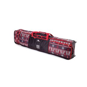 High Sierra Snow Sports Canada Adjustable Wheeled Combo Bag in the color Maple Leaf.