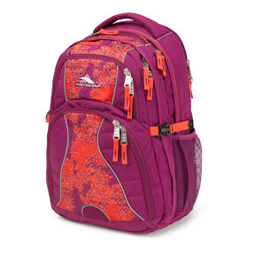 High Sierra Swerve Backpack in the color Moroccan Tile.