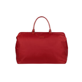 Lipault Lady Plume Weekend Bag L in the color Ruby.
