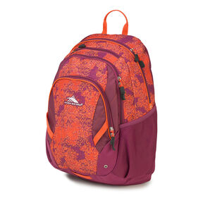 High Sierra Neenah Backpack in the color Moroccan Tile/Berry Blast/Redline.