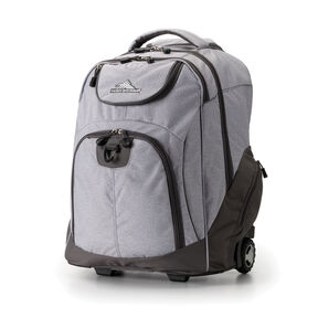 High Sierra Powerglide Wheeled Backpack in the color Jersey Knit/Slate.
