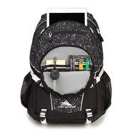 High Sierra Loop Backpack in the color Speckle/Black/White.