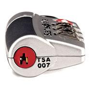 Samsonite Travel Sentry 3-Dial Combo Lock in the color Silver.