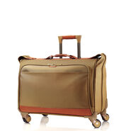 Hartmann Intensity Belting Carry-On Spinner Garment Bag in the color Olive.