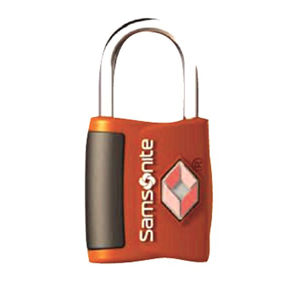 Samsonite Travel Sentry Key Lock ( Set of 2) in the color Juicy Orange.