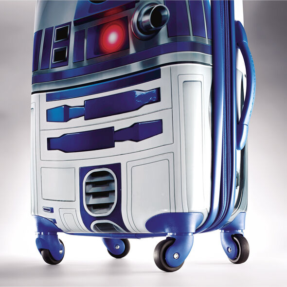 "American Tourister Star Wars 28"" Spinner in the color R2D2."