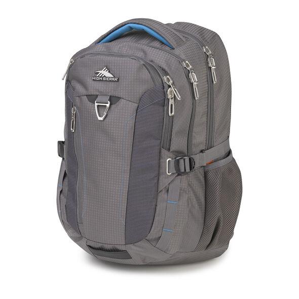 High Sierra Tephra Backpack in the color Slate/Pool.
