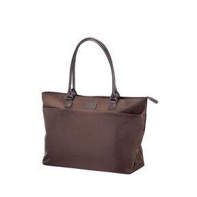 Lipault Original Plume City Tote in the color Chocolate.