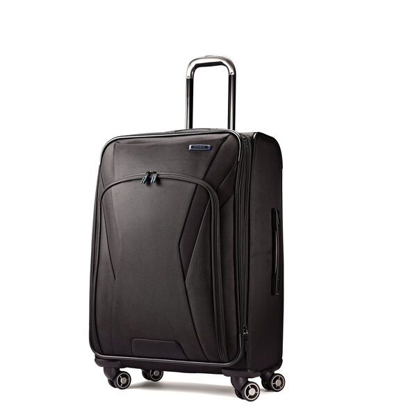 "Samsonite GeoTrakR 21"" Expandable Spinner in the color Black."