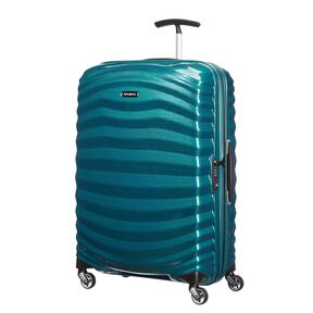 Samsonite Lite-Shock Spinner Medium in the color Petrol Blue.