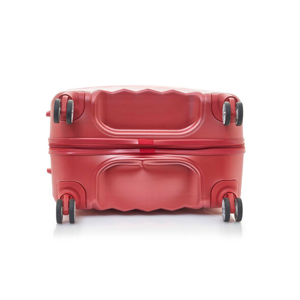 """Z-Lite DLX 28"""" Spinner in the color Autumn Red."""