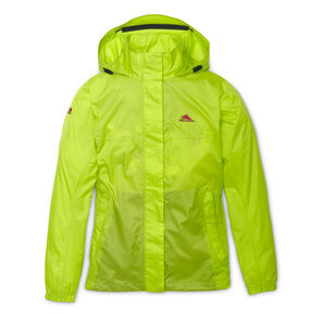 High Sierra Easy Trek Women's Jacket in the color Chartreuse.