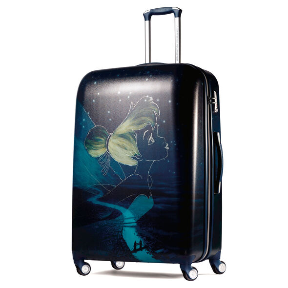 "American Tourister Disney Tinker Bell 28"" Spinner in the color Tinkerbell."