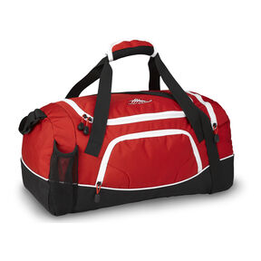 High Sierra Cross Sport Duffels Whirlwind Duffel in the color Crimson/Black/White.