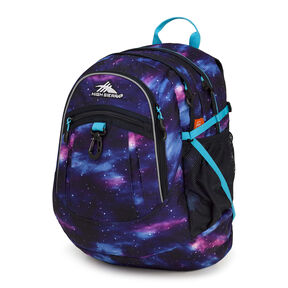 High Sierra Fat Boy Backpack in the color Cosmos/Midnight Blue/Tropic Teal.