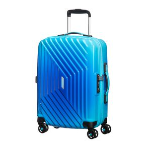 American Tourister Air Force 1 Spinner Carry-On in the color Gradient Blue.