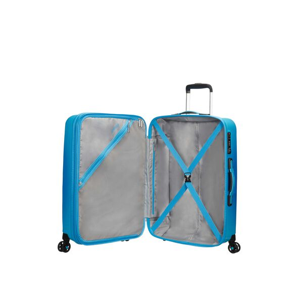 American Tourister Air Force 1 Spinner Large in the color Gradient Blue.