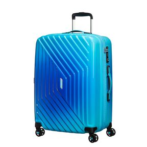 American Tourister Air Force 1 Spinner Medium in the color Gradient Blue.