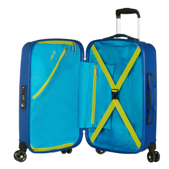 American Tourister Air Force 1 Spinner Carry-On in the color Insignia Blue.