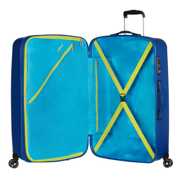 American Tourister Air Force 1 Spinner Large in the color Insignia Blue.