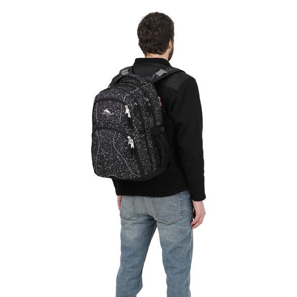 High Sierra Swerve Backpack in the color Speckle/Black.