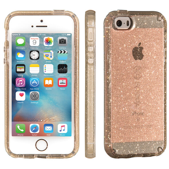 CandyShell Clear With Glitter IPhone SE, IPhone 5S