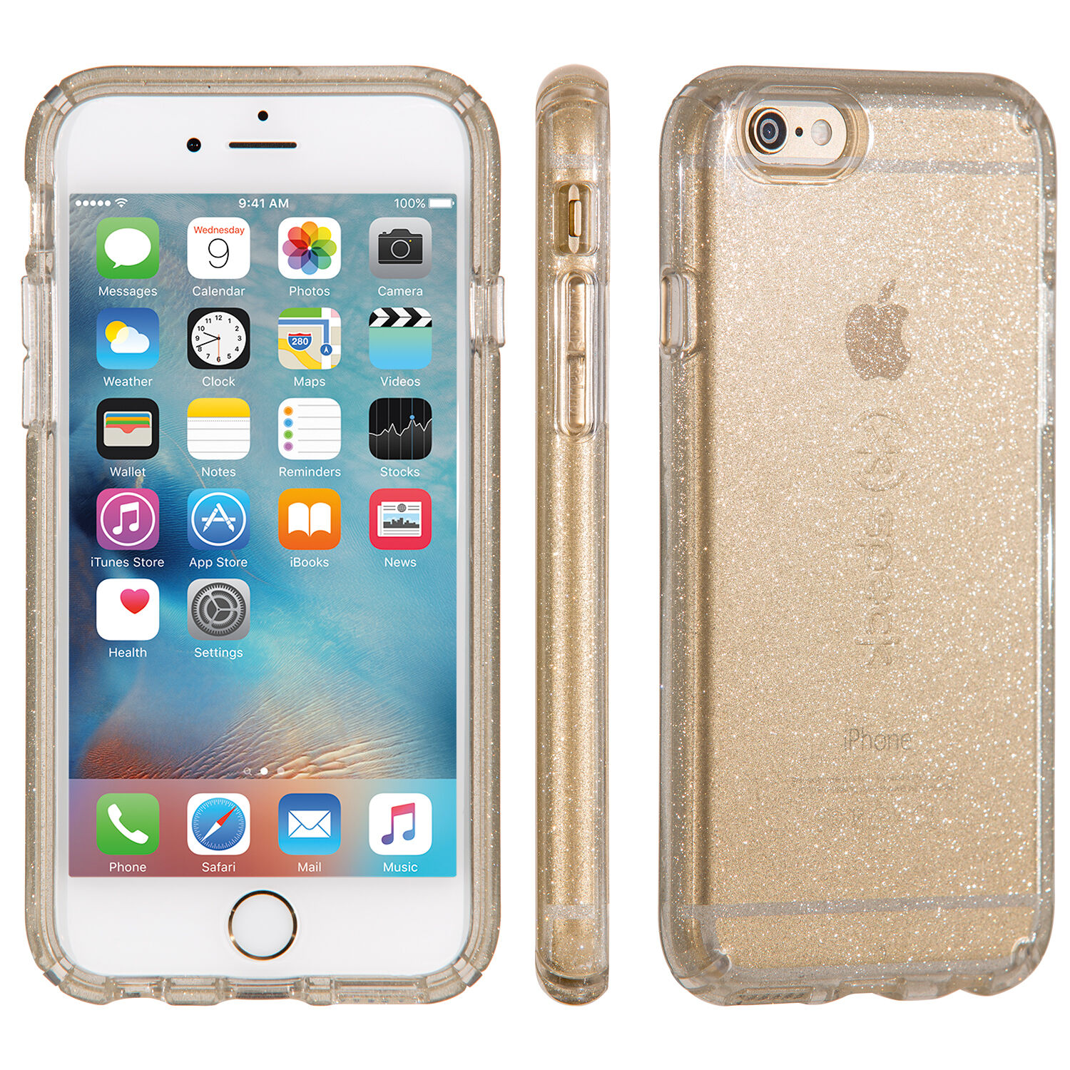 CandyShell Clear With Glitter IPhone 6s Plus Amp IPhone 6