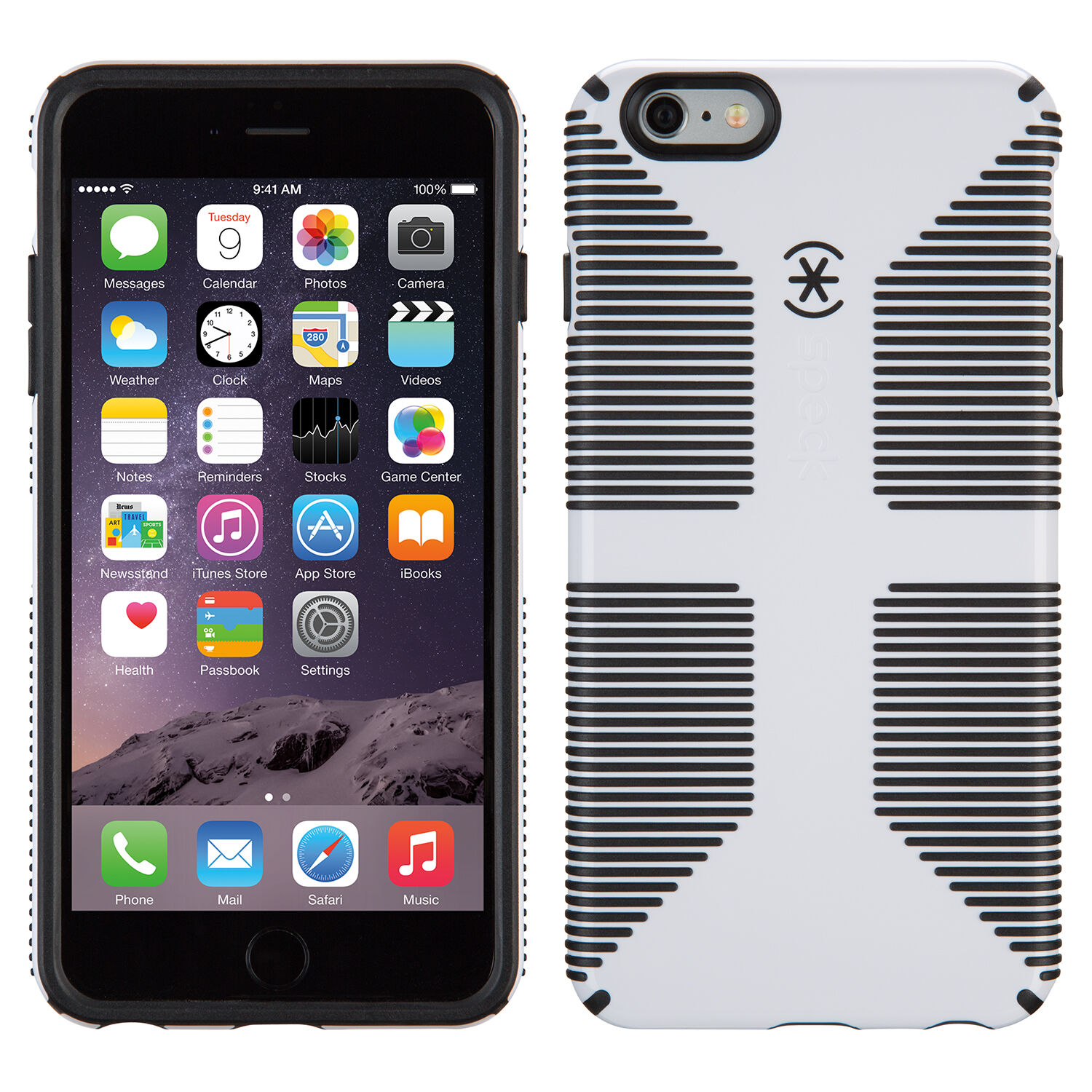 Speck Candyshell Grip Case For Iphone  Black Slate