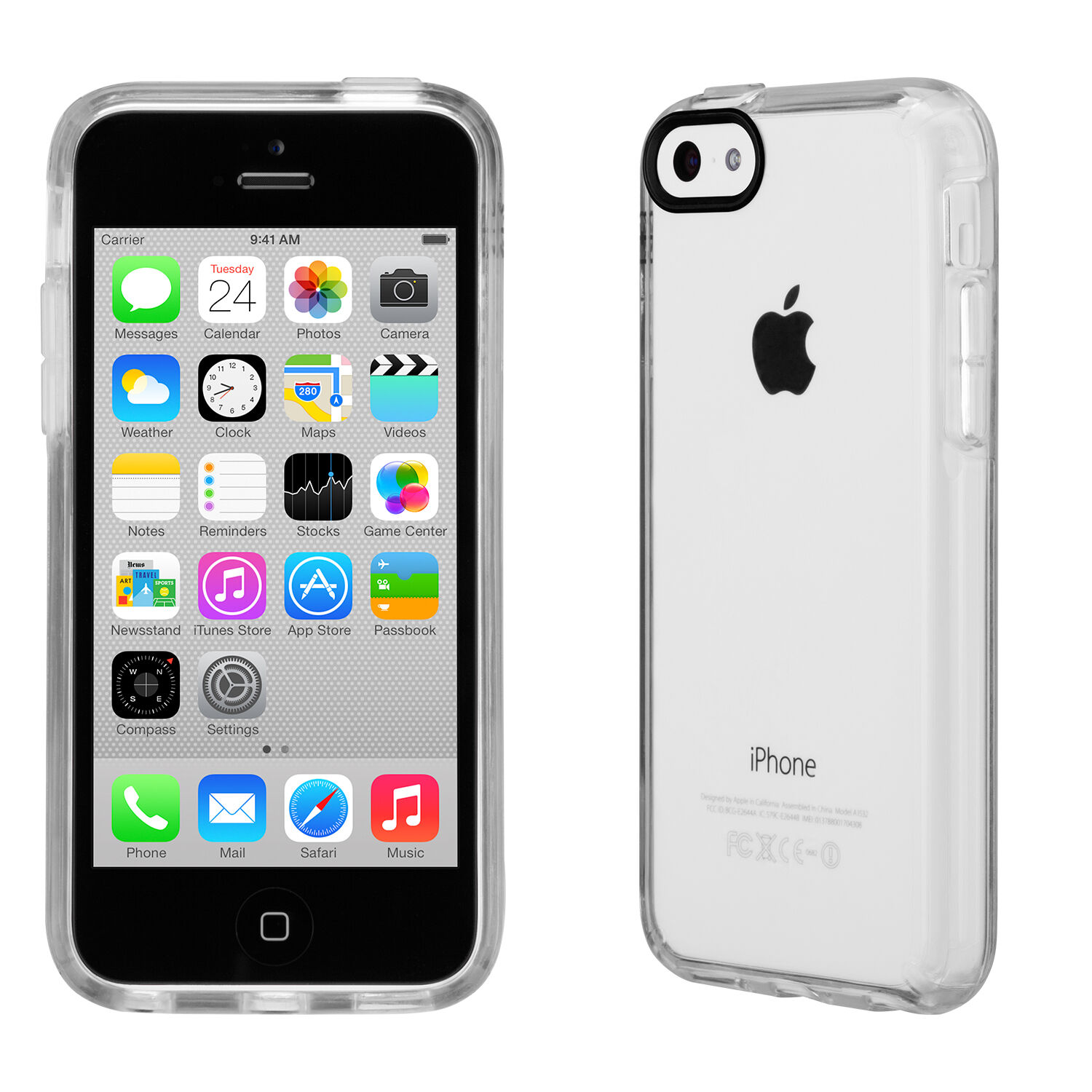 GemShell Clear iPhone 5c Cases