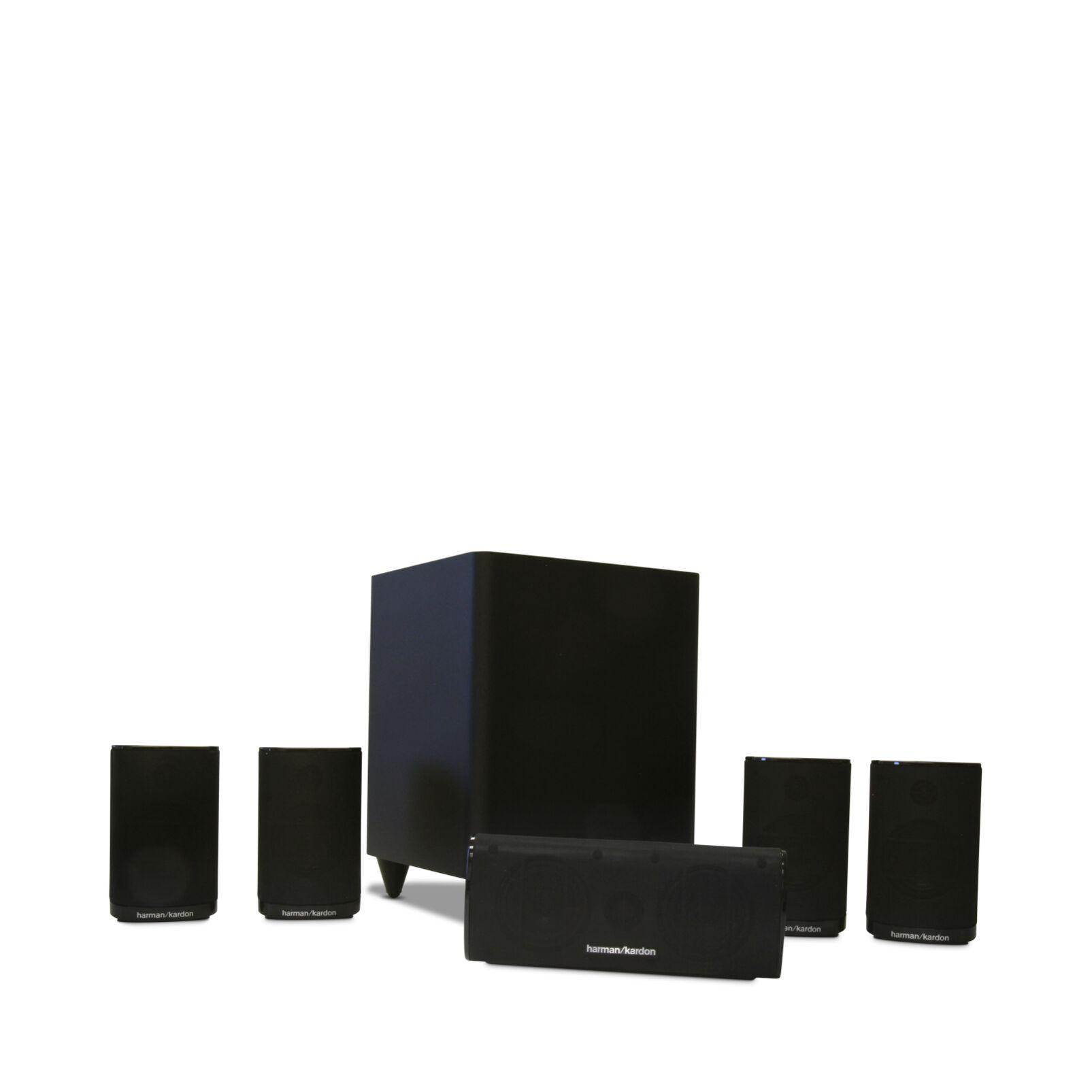 harman kardon hkts 5 a 5 1 channel home theater speaker. Black Bedroom Furniture Sets. Home Design Ideas