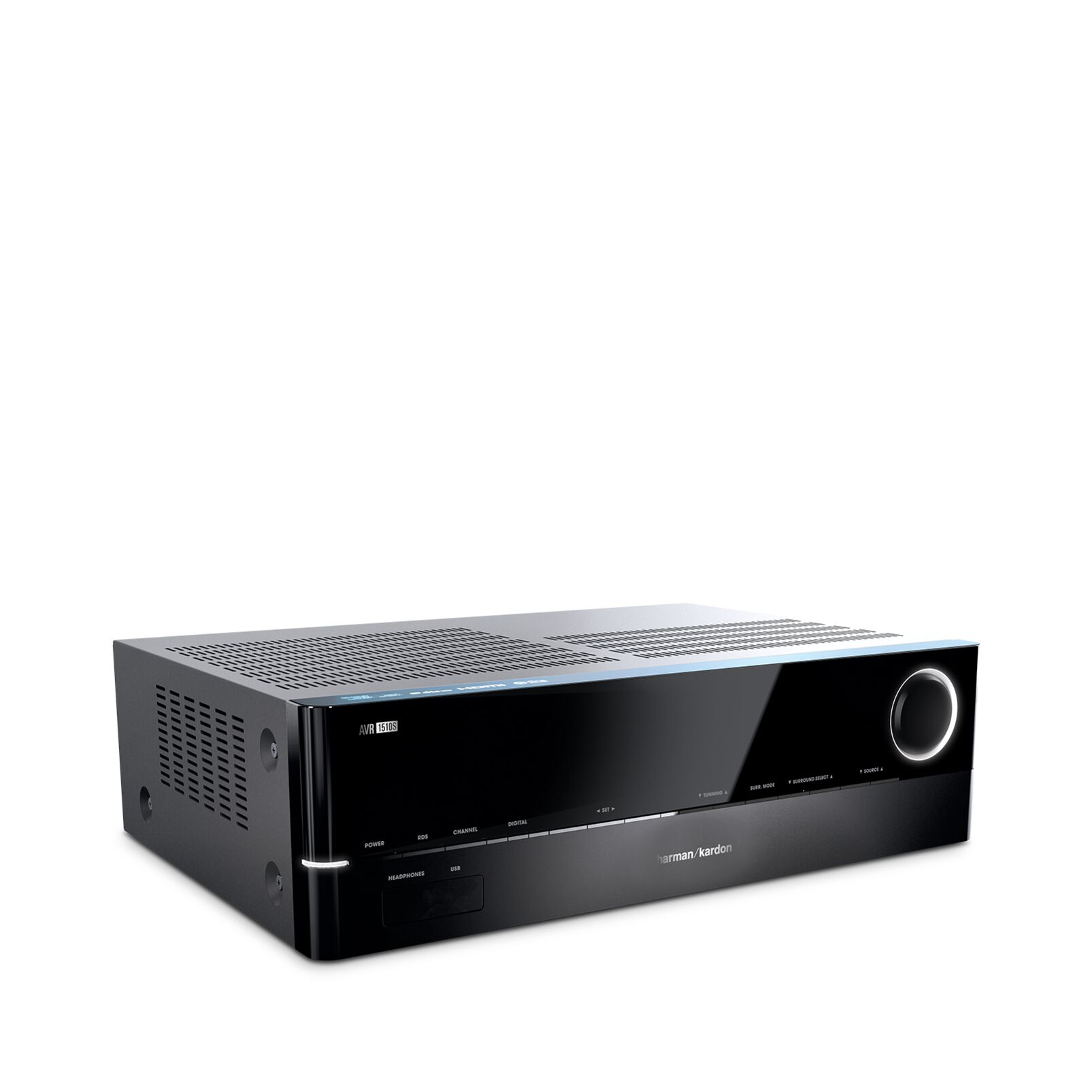 Image of 5.1 AV-receiver Harman Kardon AVR 151S 5x75 W Zwart 4K UltraHD, DLNA, Internetradio, USB