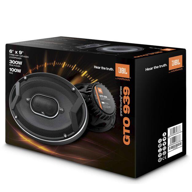 "300-Watt, Three-Way 6"" X 9"" Speaker System With"