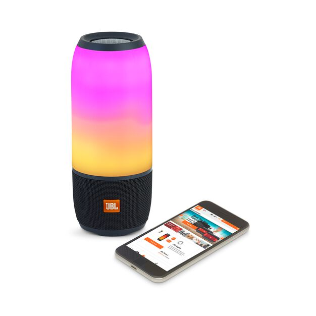 jbl pulse 3 waterproof bluetooth speaker with 360 lightshow