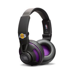 JBL Synchros S300 NBA Edition On-Ear 3.5mm Wired Headphones (Lakers)