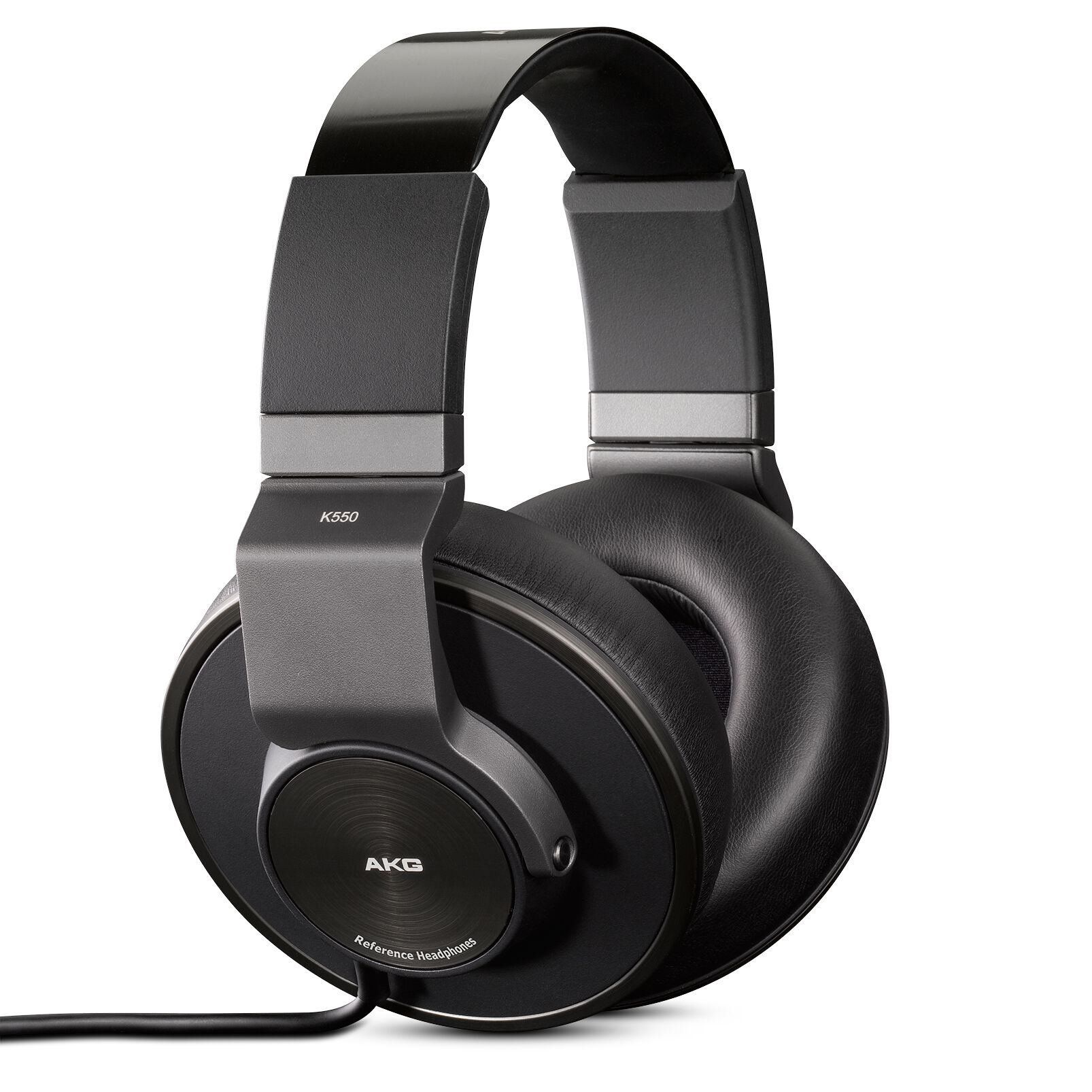 Image of AKG Harman K550 Over Ear Koptelefoon Vouwbaar Zwart