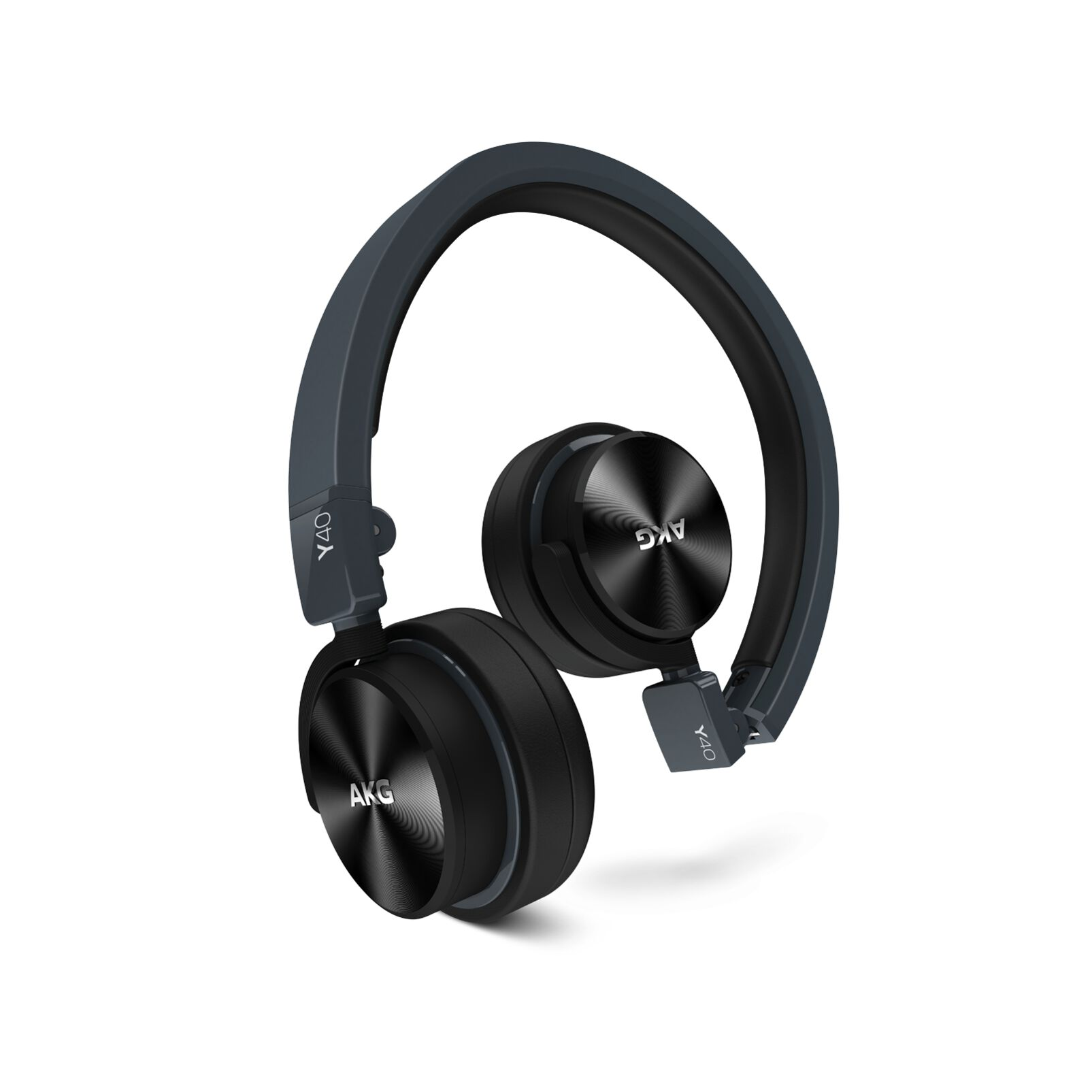 Image of AKG Harman Y 40 On Ear Koptelefoon Vouwbaar, Headset Zwart