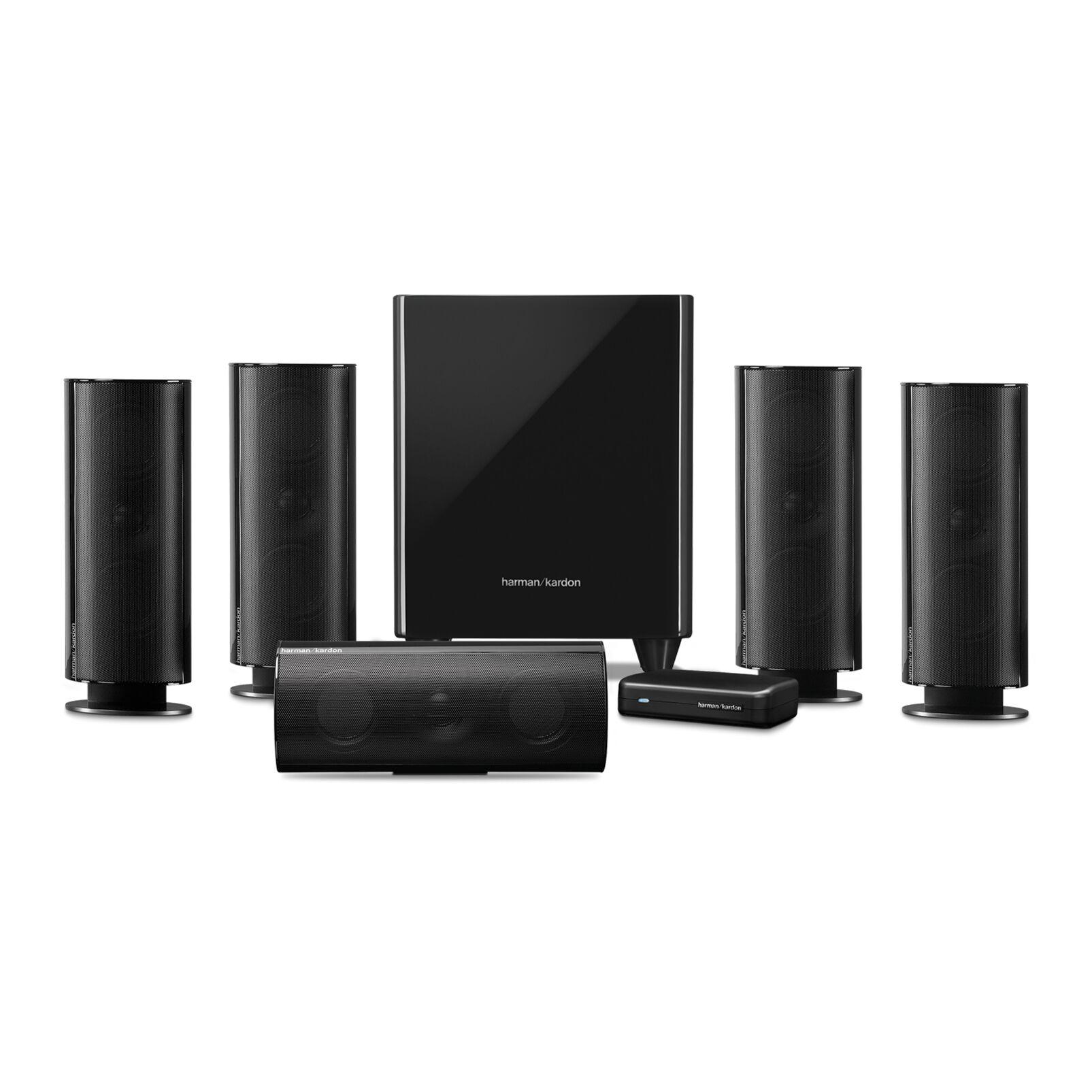 harman kardon hkts 65a 5 1 channel home theatre speaker. Black Bedroom Furniture Sets. Home Design Ideas