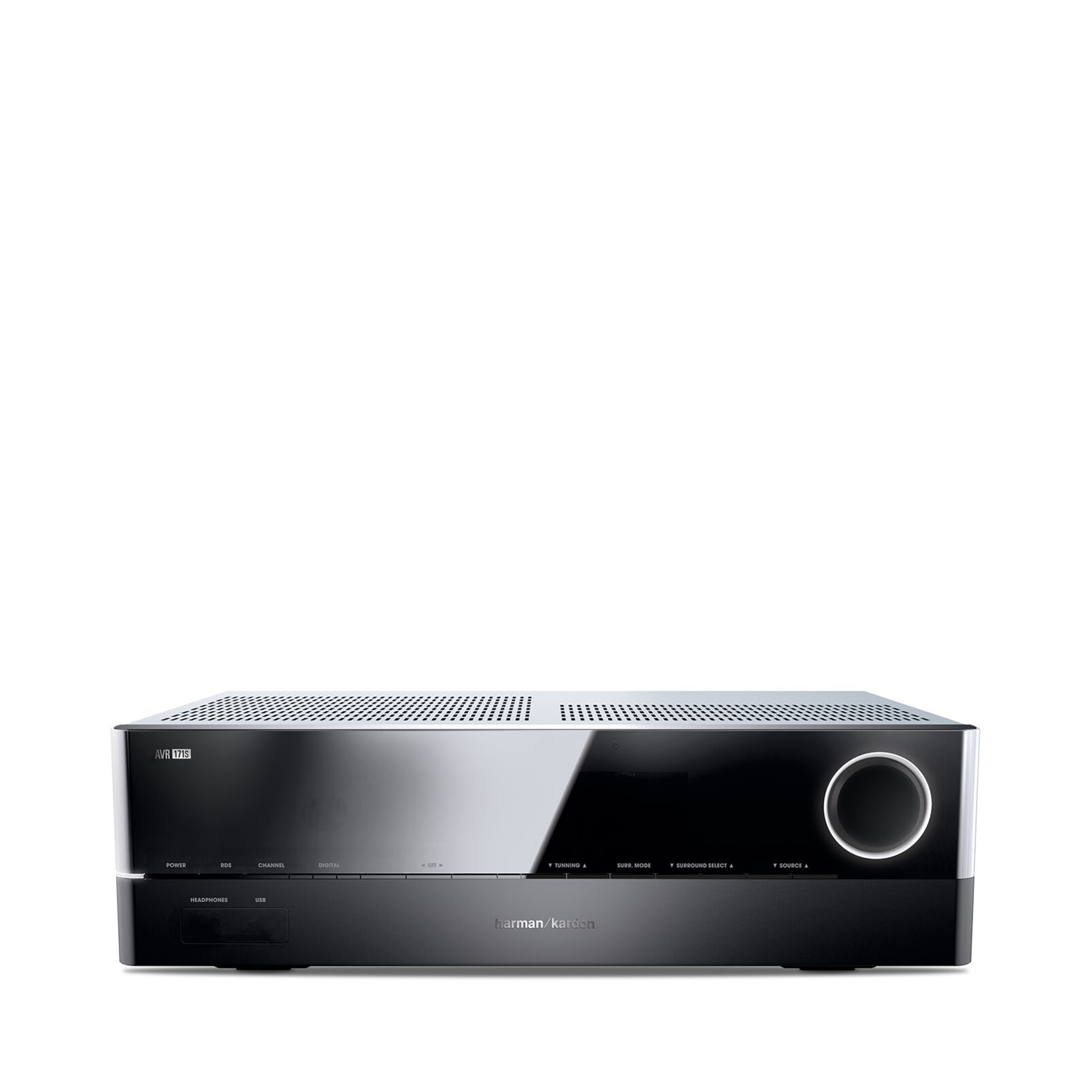 Image of 7.2 AV-receiver Harman Kardon AVR 171S 7x100 W Zwart 4K UltraHD, AirPlay, Bluetooth, DLNA, Internetradio, USB